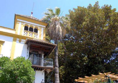 Balcone di Rosina nel Quartiere di Santa Cruz