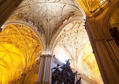 Interno Cattedrale di Siviglia