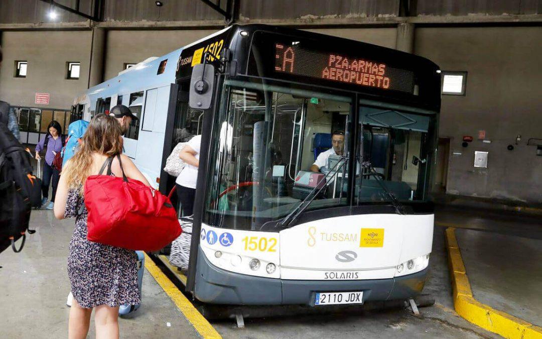 Andare dall'aeroporto di Siviglia al centro: taxi o autobus