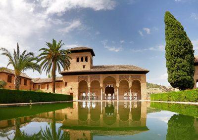 El Partal all'Alhambra di Granada