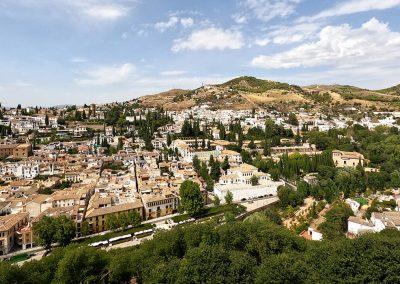 Vista dall'Alhambra
