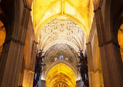 Navata centrale Cattedrale di Siviglia