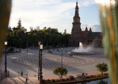 Tramonto Plaza de España