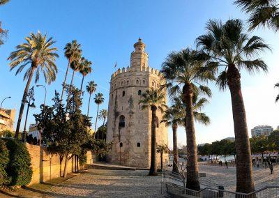 Torre del Oro sul Guadalquivir